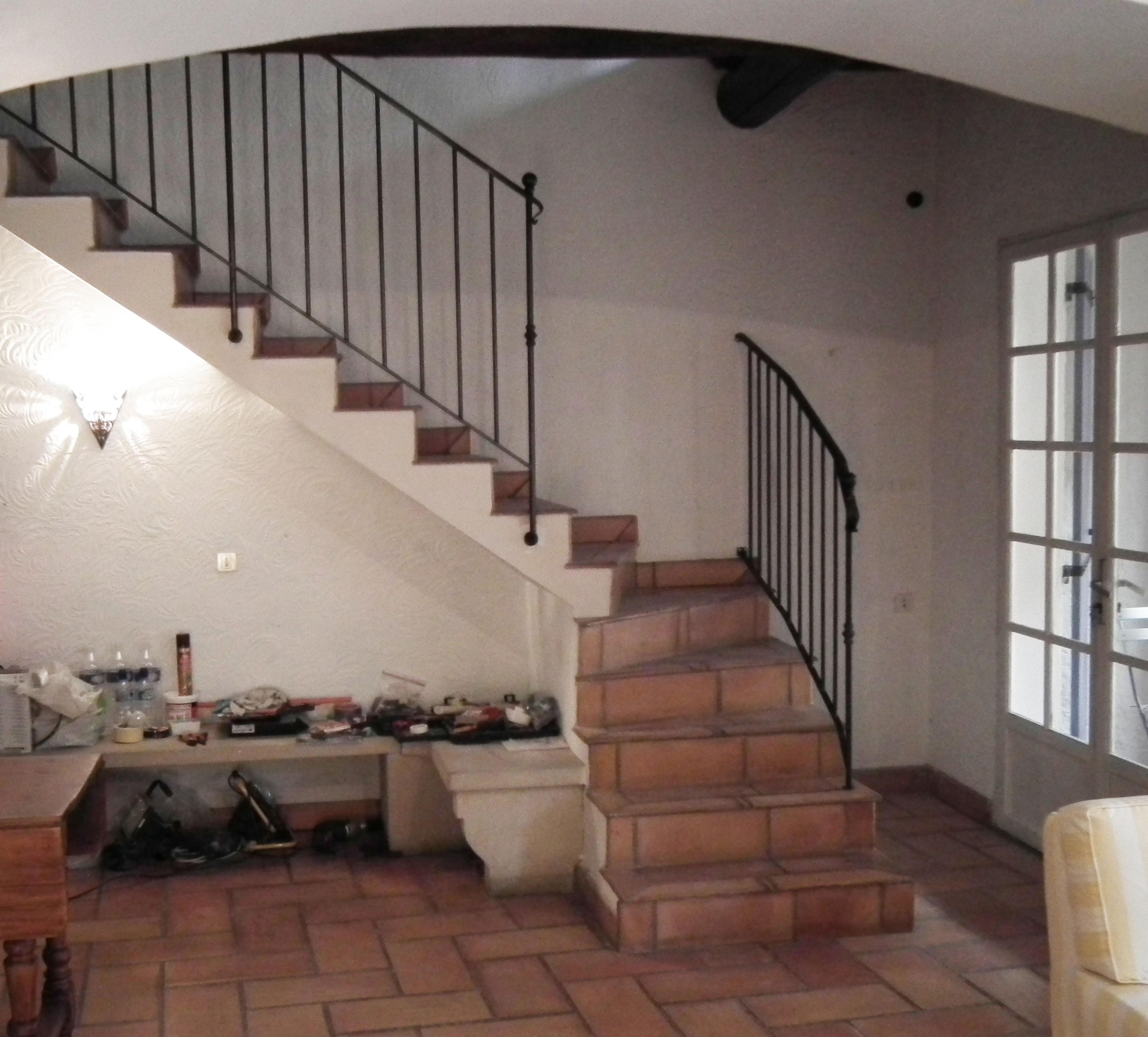 New Stair Railing Chez Mirabel